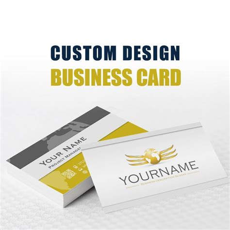 custom make business cards custom branding design package that stands out