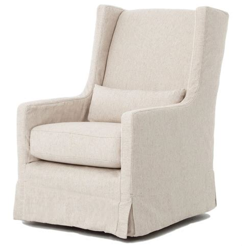 swivel chair slipcover wilshire modern classic slipcover linen swivel arm
