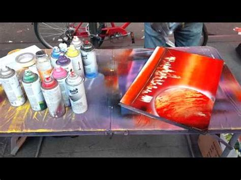 spray paint times square nyc spray paint in times square