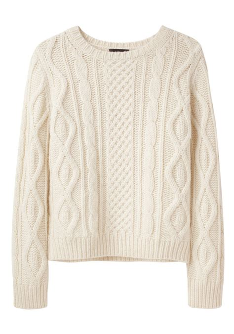 cable knit sweater a p c cable knit sweater la from la gar 231 onne want