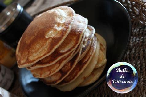 recette de pancakes sans temps de repos bulle de p 226 tisserie