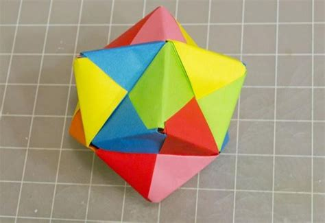 modular origami units modular origami how to make a cube octahedron