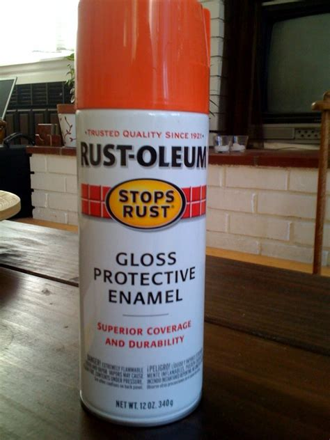 spray paint forum attachment browser rustoleum orange jpg by miniellipse