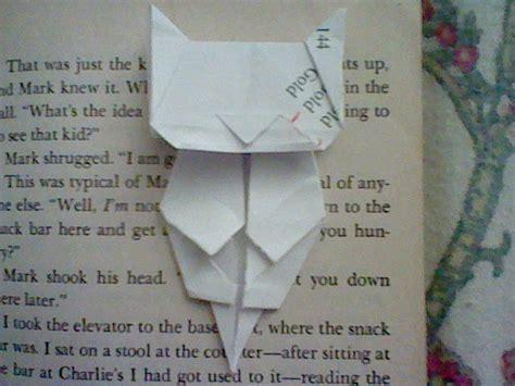 origami cat bookmark origami cat bookmark jo nakashima by iamboredalready on