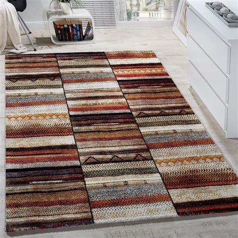modern patterned rugs modern loribaft design multi coloured patterned designer