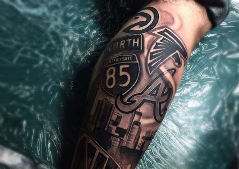 best atlanta tattoos themed tattoo ideas