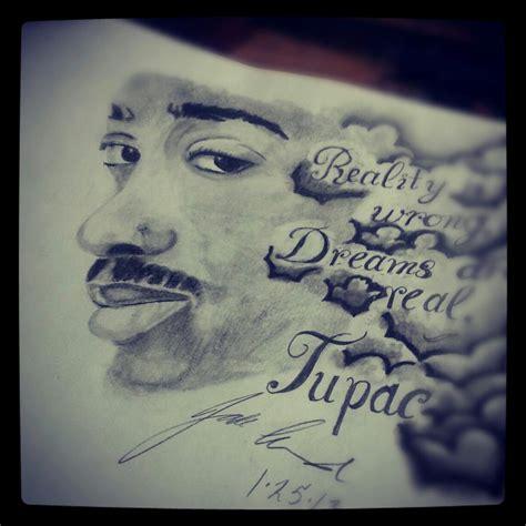 tupac portrait by jc0le on deviantart
