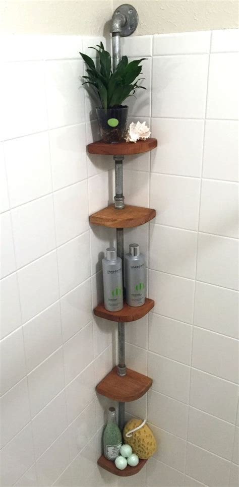 corner shelves bathroom best 25 shower storage ideas on shelves in