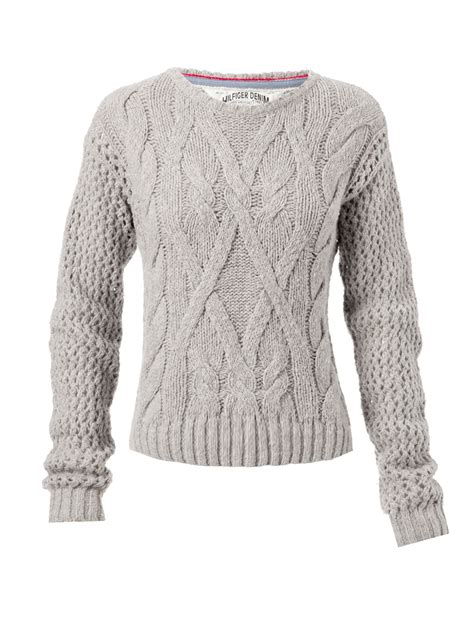 womens cable knit cable knit womens jumper crochet and knit