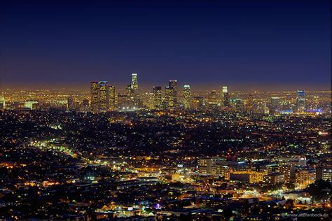 los angeles panoramio photo of los angeles downtown