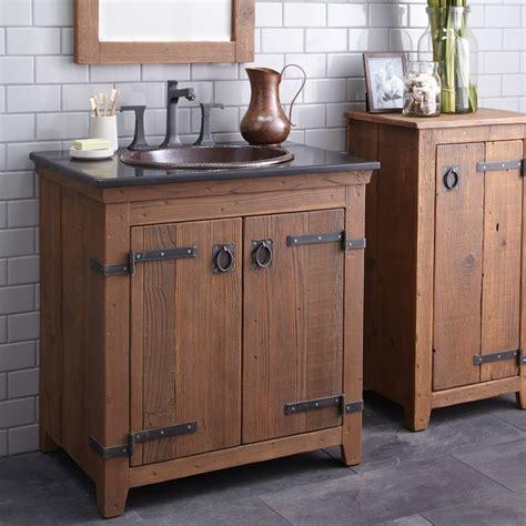 Rustic Modern Bathroom Vanities by Rustic Bathroom Vanities Ideas For Interesting Rural Look