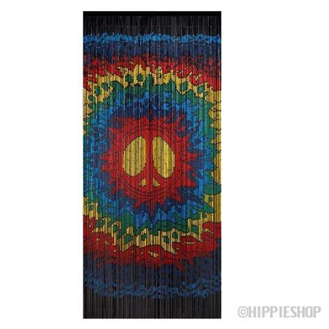 Psychedelic Peace Bamboo Door Hippie