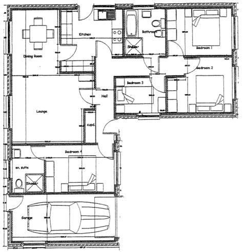 floor plans for bedroom with ensuite bathroom new homes in wales 4 bedroom bungalow with en suite to