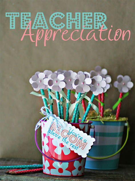 gifts teachers 23 handmade appreciation gift tutorials