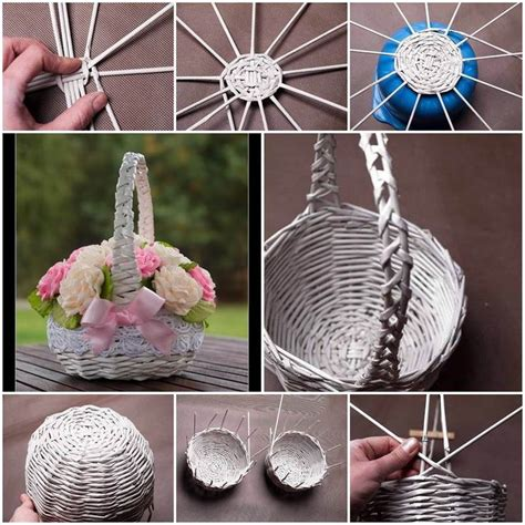 craft paper basket 25 unique newspaper basket ideas on paper