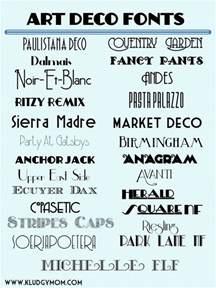 deco font on deco typography deco logo and deco monogram