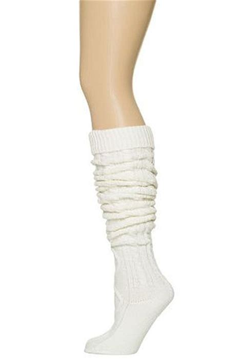 thigh high knit socks socks preppy cable knit white thigh high socks