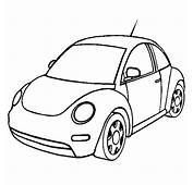 New Volkswagen Beetle Car Coloring Pages  Best Place To Color