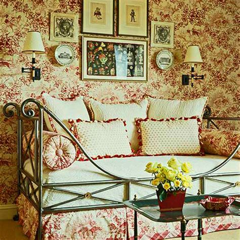toile bedroom decorating ideas toile fabric traditional home