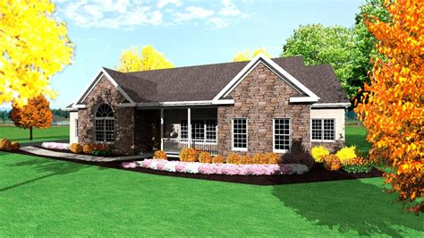 home design story levels one story ranch house plans 1 story ranch style houses