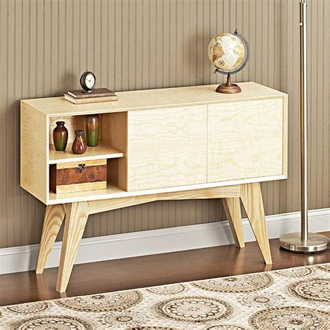 modern woodworking plans mid century modern credenza woodworking plan from wood