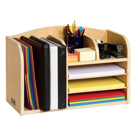 desk folder organizer s assistant desktop organizer all wood organizer