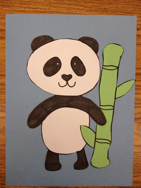 panda crafts for panda apples and abc s