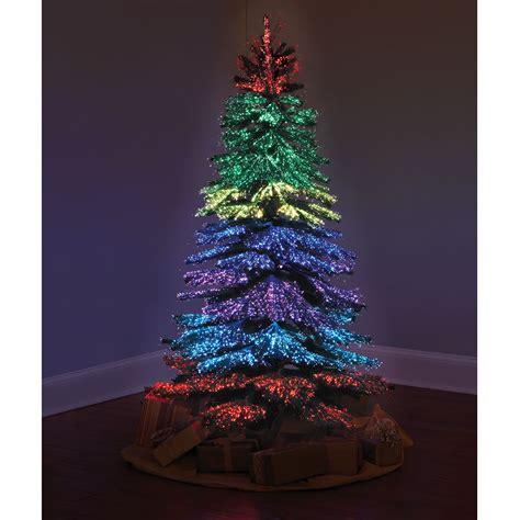 lights tree the thousand points of light tree hammacher schlemmer