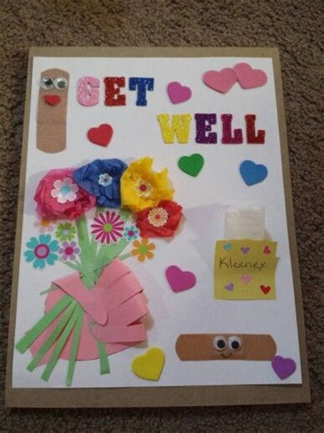 get well soon card ideas for children to make diy get well card stin up get well