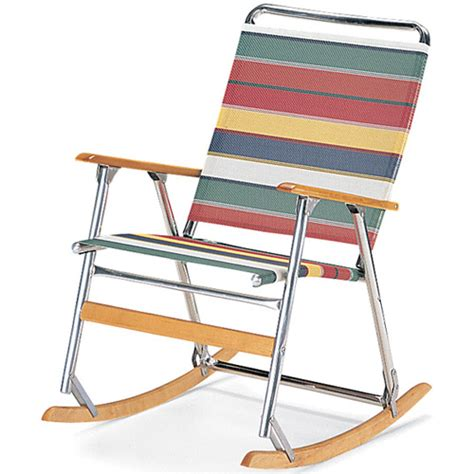 rocking folding lawn chair teleweave folding rocking chair lawn chairs