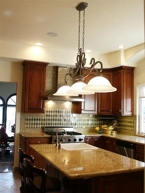 unique kitchen island lighting combining classic and modern kitchen island lighting designoursign