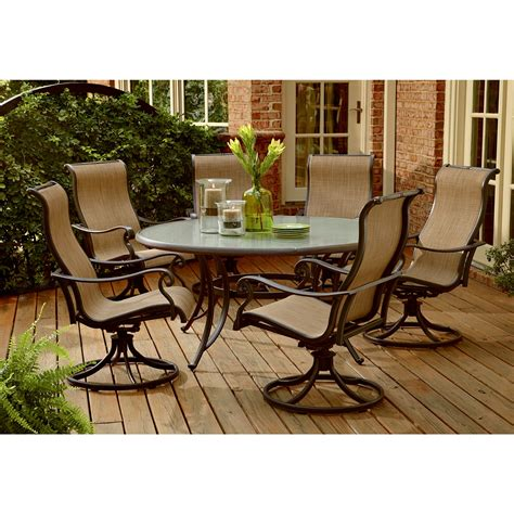 agio patio dining set agio aac 43201 58810 panorama 7 pc glass dining