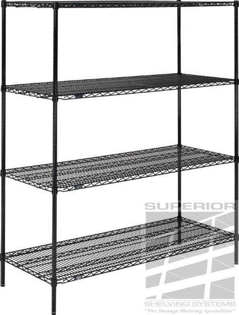nexel wire shelving nexel black wire shelving black epoxy wire shelves