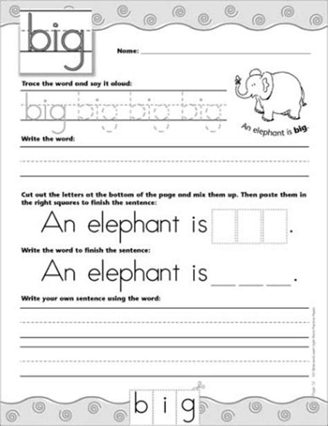 100 write and learn sight word practice pages engaging reproducible activity pages that help recognize write and really learn the top 100 high frequency words that are key to reading success 100 write and learn sight word practice pages engaging