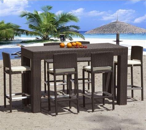 bar set patio furniture outdoor patio furniture bar sets vento mezzo outdoor bar