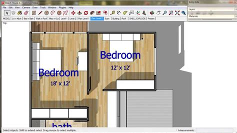 floor plan with sketchup 14 floor plans a trebld and sketchup tutorial