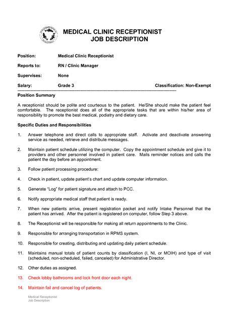 duties of a front desk officer front desk description whitevan