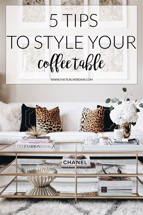 how to style a coffee table the a dallas