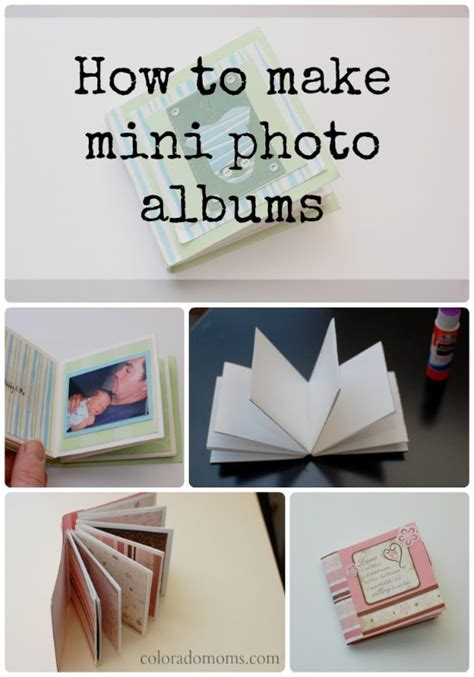 how to make personalized cards how to make a mini photo album coloradomoms