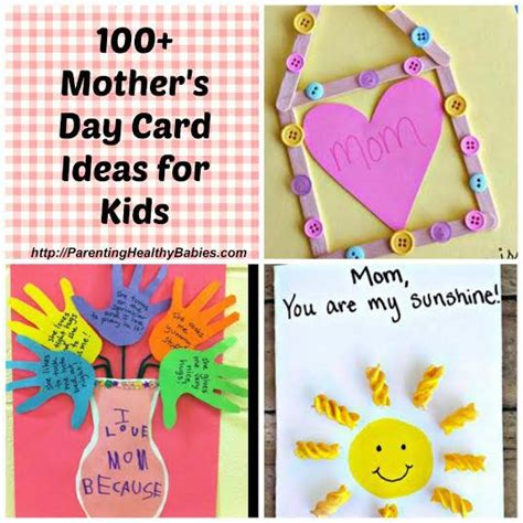 mothers day cards ideas for children to make s day card ideas for