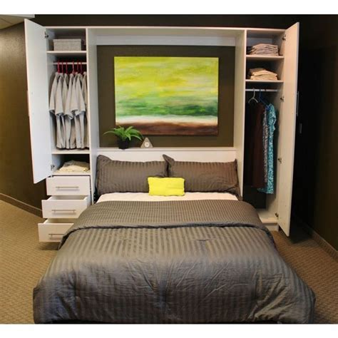 bedroom and more enjoy some more convenience through diy murphy bed