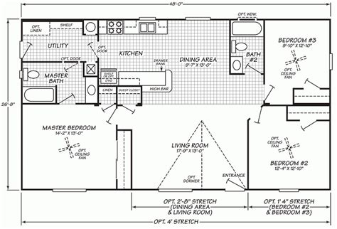 1997 fleetwood mobile home floor plan 2000 fleetwood mobile home floor plans awesome wide