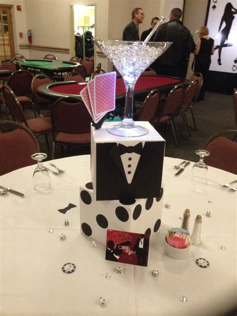 ideas for to make bond casino royale event centerpieces ideas