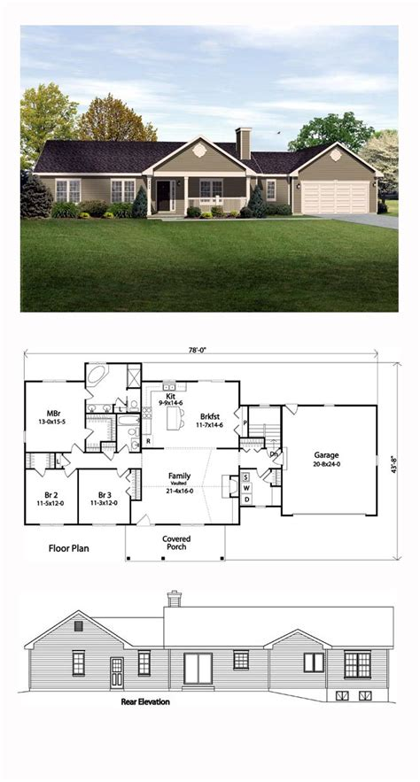 top 10 ranch home plans best 25 ranch style homes ideas on ranch