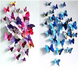 3d butterfly stickers for walls 3d butterfly wall stickers as low as 3 86