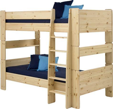 pine bunk beds steens pine bunk bed