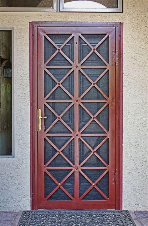 secure exterior door 25 best ideas about security door on front