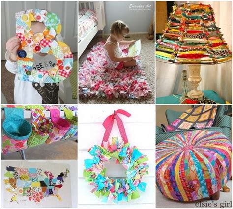 home decorating fabric 15 creative ideas to recycle fabric scraps for home decor