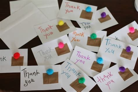 thank you cards can make crafty diy thank you cards classic play