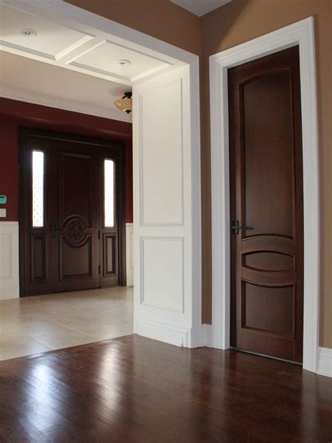 painted woodwork 25 best ideas about brown interior doors on